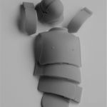 German Body Armour (Sections) - The Parts in Resin 1