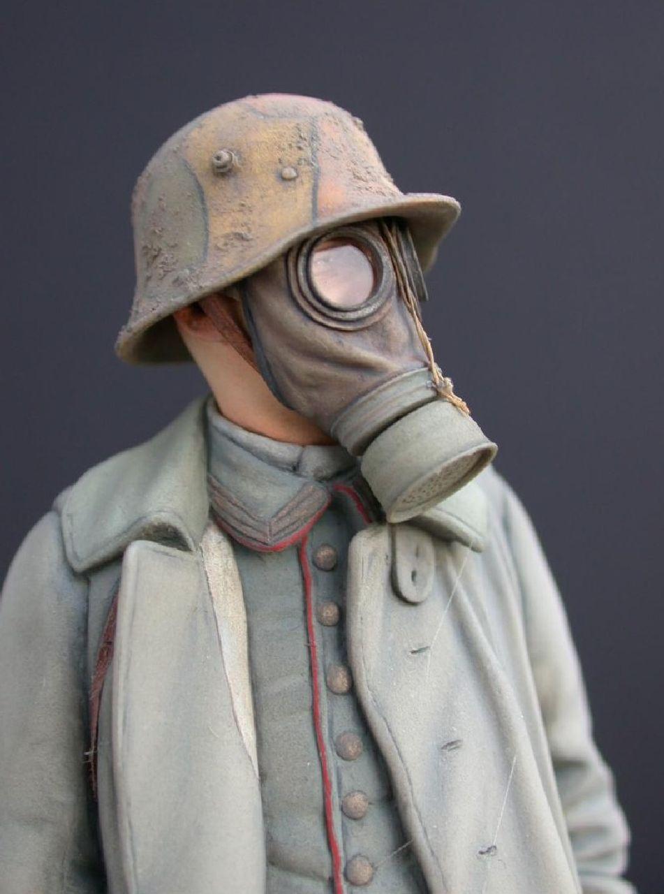 German Gas Mask Set