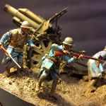 German Gun - French Infantry 54mm 3