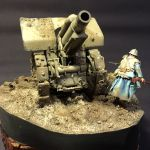 German Gun - French Infantry 54mm 4