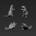 Rat 12 - Standing - SRD