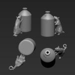 Rat 12 - Standing - SRD 3