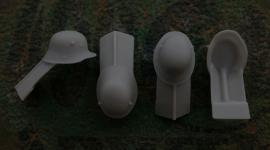 54mm German Steel Helmet M1916