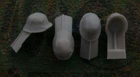 54mm German Steel Helmet M1916 with Cover