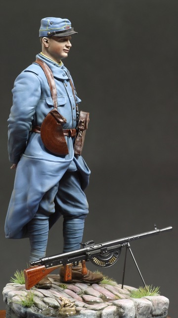 French MG Gunner