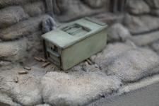 Single German MG Ammo Box M1911 - closed