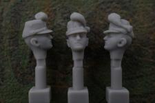 54mm German Head – Saxon Shako M1867