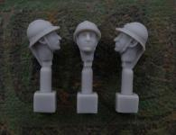 54mm French Head – Adrian Helmet M1915