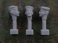 54mm German Head – Field Cap M1910
